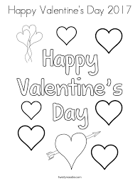 Small Picture Valentines Day Coloring Pages Twisty Noodle
