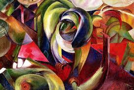 mandrill painting mandrill by franz marc