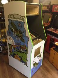 1942 Arcade Cabinet Galaxian Scratch Build Archive Klov Vaps Coin Op Videogame