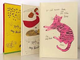 andy warhol s cat books holy cats and 25 cats name sam and one blue
