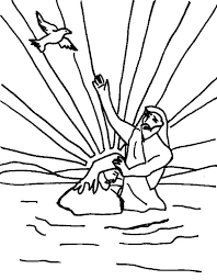 Baptism 68 Holidays And Special Occasions Printable Coloring Pages