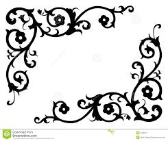Corner Designs Vector Free Download Corner Renaissance Vector 2 Stock Vector Illustration Of