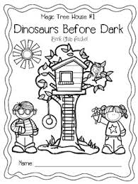 Small Picture Magic Tree House 1 Dinosaurs Before Dark Book Club Packet by