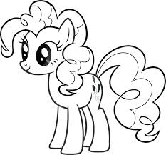 instructive pinkie pie coloring page pages sheet baby