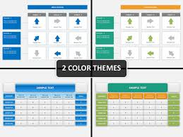 Matrix Chart Powerpoint Decision Matrix