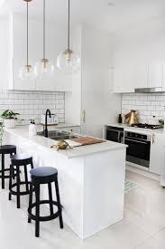 Modern Simple Design Modern White Simple Kitchen