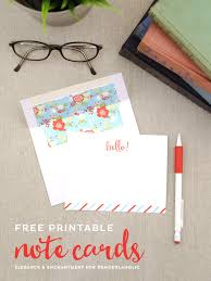 Free Printable Note Cards Free Printable Note Cards