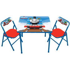 creative of toddler folding table and chairs with thomas the tank activity table and 2 chairs