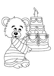 Gelukkige Verjaardag Kleurplaat