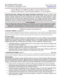 Business Development Resume Sample Resume For Study