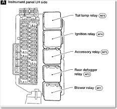 2003 nissan xterra fuse box diagram nissan wiring diagrams for 1995 nissan altima radio wiring diagram at 1997 Nissan Altima Wiring Diagram