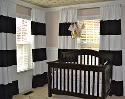 Interesting Black And White Curtains Neoteric Striped On Decorating Ideas