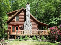Cozy Mountain Log Home Overlooking Rushing ... - VRBO