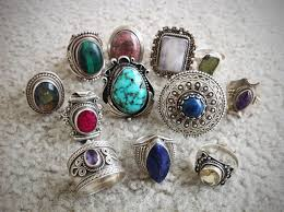 i love collecting sterling silver gemstone jewelry i especially love collecting beautiful bold vine rings i get so excited when i glance down at