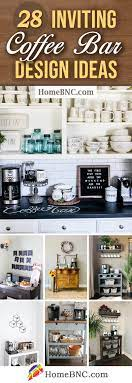 There are several bar cabinet ideas for all those of you who don't have the space for a large bar for coffee and wine places. 28 Best Coffee Bar Ideas To Kickstart Your Days In 2021