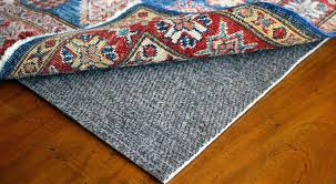 best rug pads for hardwood floors with grey natural fiber under the modern ornament pad 5x8