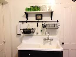 charming outstanding dish drying rack wall ainted wooden cabinet white marble sink double handle chrome faucet black wire dish