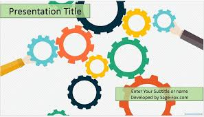 power points template free powerpoints templates free gears powerpoint template 4473