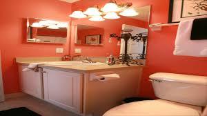 Coral Bathroom Decor Bright Colored Bathrooms Coral Color Bathroom Decor Coral And