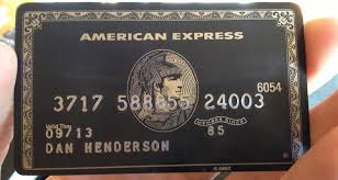 Card Secret Black Card Is What Express American This