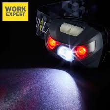 work expert cree led battery powered head lamp from 7 99 in diy telegraph