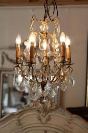 small french brass chandelier