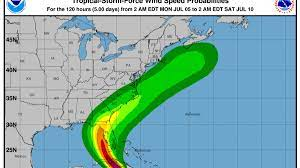 Tropical storm warning issued for ...