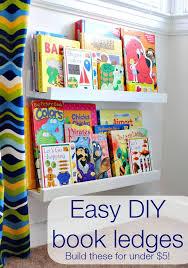 diy book ledges