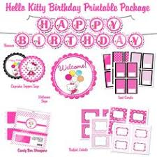 hello kitty birthday party printables free printable hello kitty 1st birthday invitations invitetown