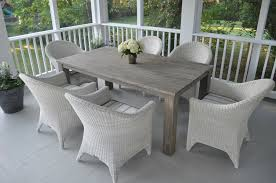 wooden outdoor furniture painted. Stylish Ideas Grey Rustic Dining Table Project Weathered Paris Gray Painted Round Wooden Outdoor As Furniture I