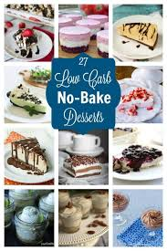 leave the oven off with these easy no bake low carb desserts that can be whipped