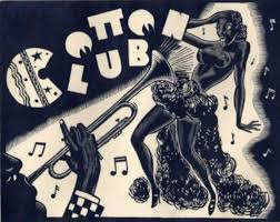 harlem s famous cotton club 1929 woodcut print it hosted some of the greatest