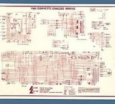 corvette color wiring diagram laminated corvette wiring diagram laminated