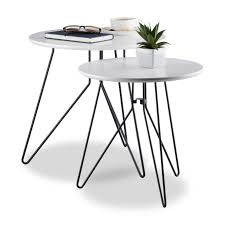 white side table set of 2 now