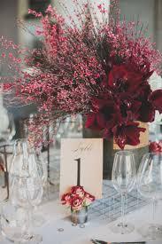 Modern Red Industrial Wedding Inspiration. Red Centerpiece WeddingModern  CenterpiecesBudget ...