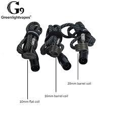 <b>Enail</b> Electric Nail Heating Coils For Dry Herb <b>3</b> Sizes Coil 10mm ...