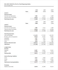 balance sheet template balance sheet 16 free word excel pdf documents download