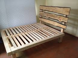 creative bed frames. Interesting Bed Creative Simple Wood Bed Frame Designs Idea Personal Creation  Rustic  Accents Bakc Board Design On Frames Pinterest