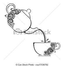 teacup and teapot drawing. Simple Teapot For Teacup And Teapot Drawing A