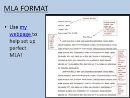 Essay Mla Formatting Ppt Download