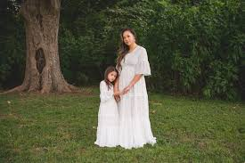 <b>Bohemian Mother Daughter</b> Matching <b>Dresses Outfits Boho</b> Mommy ...