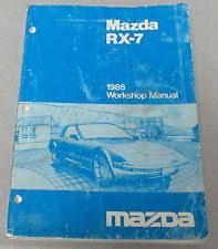 rx7 manual 1985 mazda rx 7 service workshop manual wiring diagrams