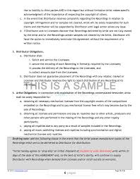 This topic provides information about sales agreements. All In One Music Contract Pack Musiclawcontracts