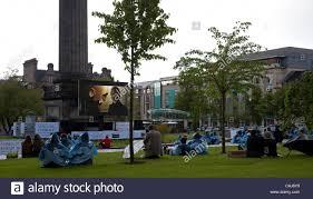 2011 Edinburgh Film Festival St Andrews Square Outdoor