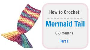 Baby Mermaid Tail Crochet Pattern