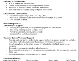 Cover Letter Executive Secretary Resume Sample Image Examples