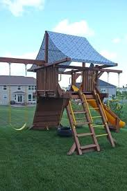 swing set cover canopy good bye boring lovely doing this one covers