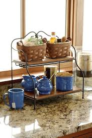 storage friendly accessory trends for kitchen countertops kitchen countertop storage shelves kitchen countertop food storage