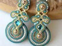 soutache: лучшие изображения (127)   Embroidery, Jewelry и ...