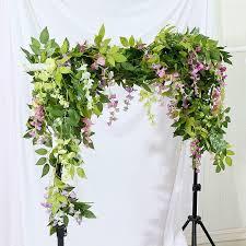 artificial wisteria flower bean